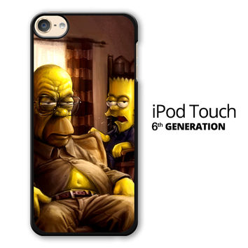 The Simpsons Homer Marge Bart Breaking Bad iPod Touch 6 Case