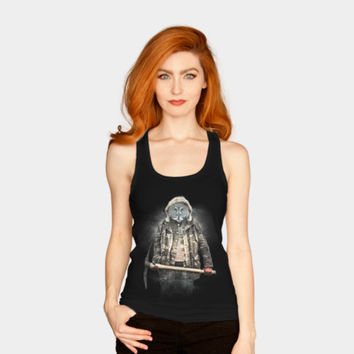 Blizzard Owl Tank Top By Daniacdg Design By Humans