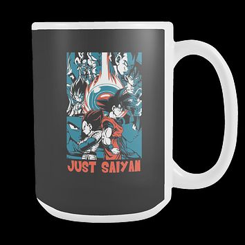 Goku and Vegeta Just Saiyan  15oz Coffee Mug - TL00007M5