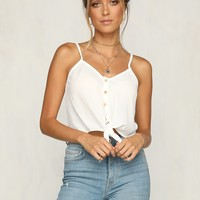 Gemini Top (White)