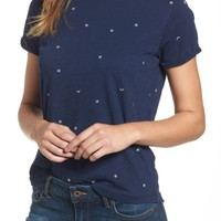 Lucky Brand Embroidered Crewneck Tee | Nordstrom