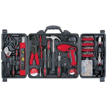 FATHERS DAY GIFT Apollo 161 PIECE Household Tool Kit SET w/Case