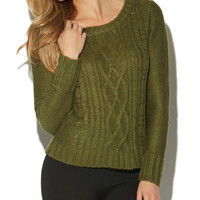 Cable Pullover Sweater | Wet Seal
