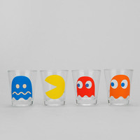 Pac Man Shot Glass - Set Of 4 - Urban Outfitters