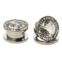 Steel Bling Spool Plugs 2 Pack