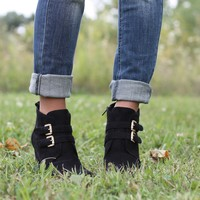 Wake up Wedge Booties