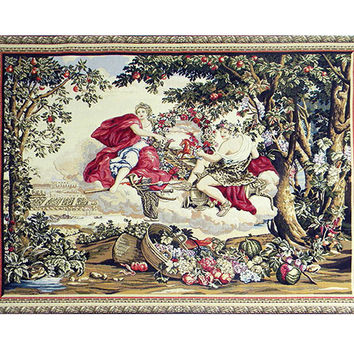 Bacchus Tapestry Wall Hanging