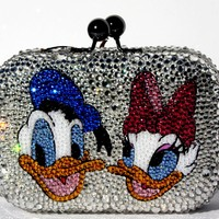 Donald and Daisy Crystal Clutch