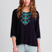 Old Town Embroidered Blouse