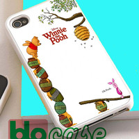 Cute Winnie The Pooh For Iphone 4/4s, iPhone 5/5s, iPhone 5C, iphone 6, and iPhone 6 Plus Case