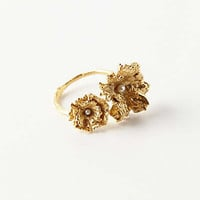 Anthropologie - Golden Empire Ring