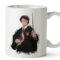 Harry Potter Watercolor Coffee Mug, Kids Mug, Disney Mug