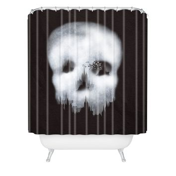 Viviana Gonzalez Dark City Shower Curtain