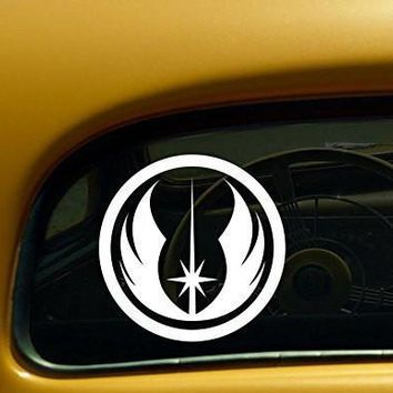 Jedi Order Emblem Star Wars Decal Sticker for Car Windows Room