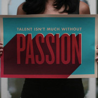 $20.00 Passion Poster