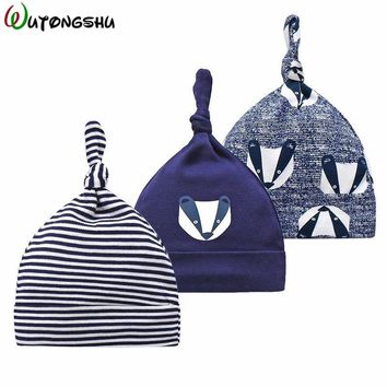 3pcs/lot Baby Hats Newborn Boy Hat Printed Winter Baby Hats & Caps For 0-6 Months Kids Beanie Photography Props Baby Costumes