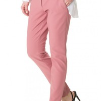 Tibi Anson Stretch Slim Pants