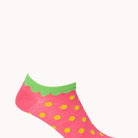 Sweet Strawberry Ankle Socks