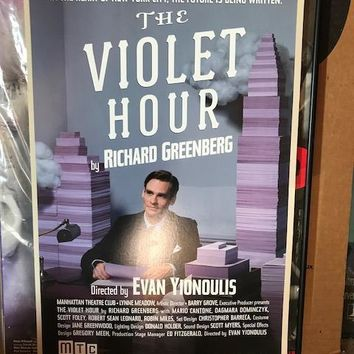 The Violet Hour Poster