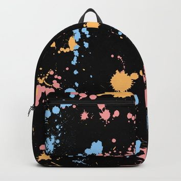 Spatter Backpack by duckyb