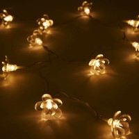 Moonflower Fairy Lights - Urban Outfitters