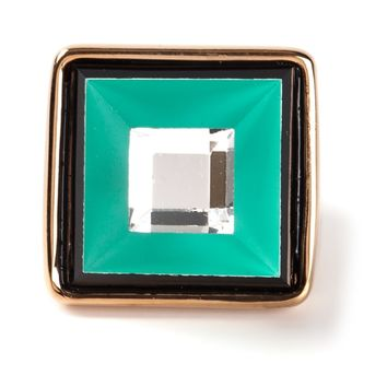 Marc By Marc Jacobs Square Face Ring