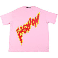 HIFASHION BIG TEE / LIGHT PINK