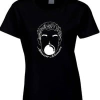 Shawn Mendes Balloon Black And White Illustrations Womens T Shirt
