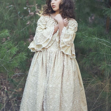 Communion Victorian dress-flower girl-photography-bridal-Isabella