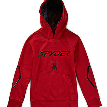 Spyder 8-20 Fast TRX Pullover Hoodie - Dare Devil Red/Black