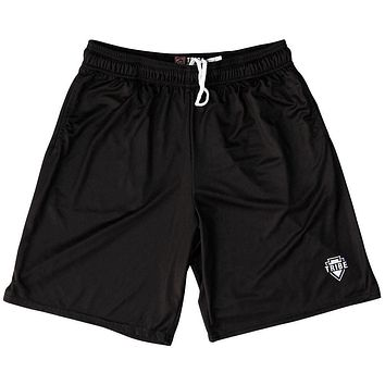 Tribe Black Lacrosse Shorts