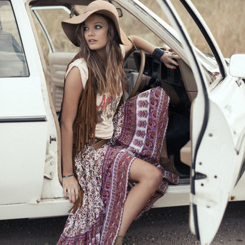 Castaway Skirt - Berry Gypsy Love   Spell & the Gypsy Collective