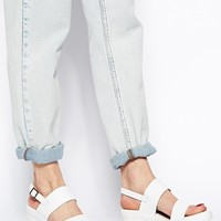 ASOS HAT TRICK Leather Heeled Sandals