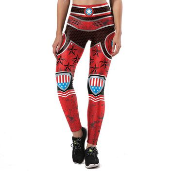 Red Star Armor Leggings