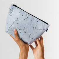 Carry All Zip Pouch Mist Constellation