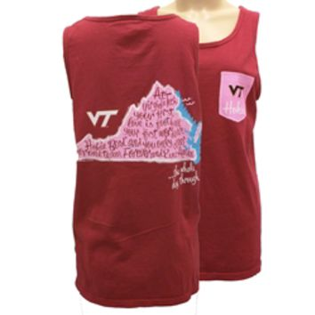 Shop Virginia Tech Comfort Colors Amen Tank at Alumni Hall!