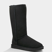 Ugg Classic Tall Womens Boots Black  In Sizes