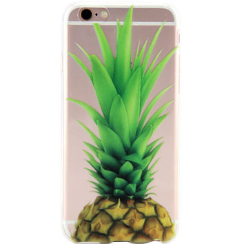 Pineapple Printed iPhone 7 7Plus & iPhone se 5s 6 6 Plus Case Cover +Gift Box-86