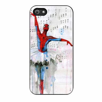 spiderman ballet cases for iphone se 5 5s 5c 4 4s 6 6s plus