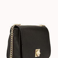 Standout Faux Leather Crossbody