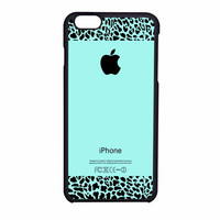 Tiffany Teal And Leopard Pattern iPhone 6 Case