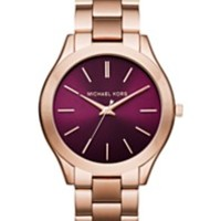 Michael Kors Women's Parker Rose Gold-Tone Stainless Steel Bracelet Watch 33mm MK5865 | macys.com