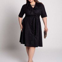 Plus Size Chloe Eyelet Dress by IGIGI