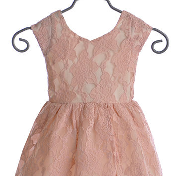 Joyfolie Josefine Dress for Girls in Blush