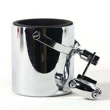 Motorcycle Cup Holder - Chrome