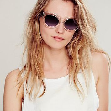 Free People Womens Dressed to Kill Sunglass