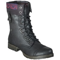 Women's Mossimo Supply Co. Khloe Blanket Topped Trooper Boot - Black