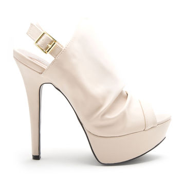 Made For Walking Heels In White