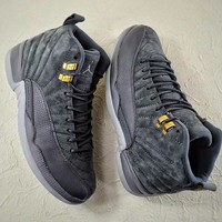 """Ready Stock"" Air Jordan 12 ?¡ãDark Grey?¡À Sneaker"