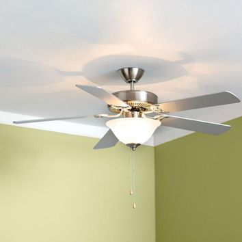 "52"" Hamlett 3-Light 5-Blade Ceiling Fan"
